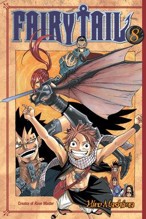 Fairy Tail 8 by Hiro Mashima