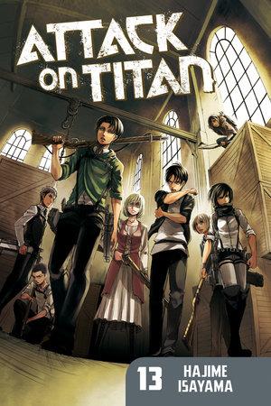 Attack on Titan 13 by Hajime Isayama