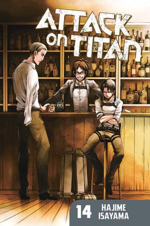 Attack on Titan 14 by Hajime Isayama