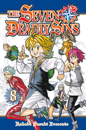 The Seven Deadly Sins 8 by Nakaba Suzuki