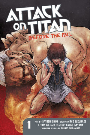 Attack on Titan: Before the Fall 1 by Ryo Suzukaze