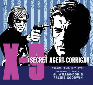 X-9: Secret Agent Corrigan Volume 4