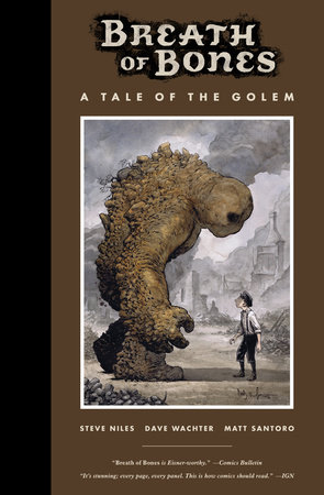 The cover of the book Breath of Bones: A Tale of the Golem