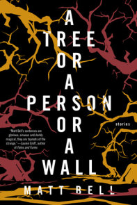 A Tree or a Person or a Wall: Stories