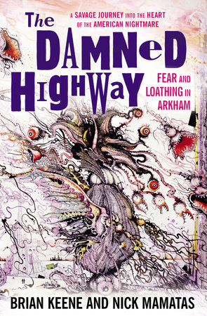 The cover of the book The Damned Highway