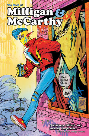 The Best of Milligan & McCarthy by Peter Milligan