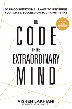 The cover of the book The Code of the Extraordinary Mind