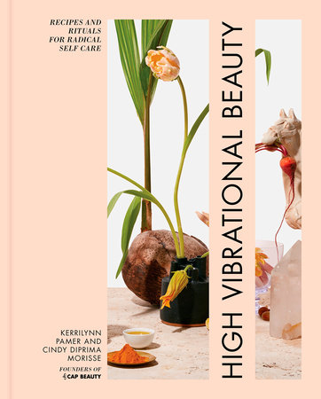 The cover of the book High Vibrational Beauty