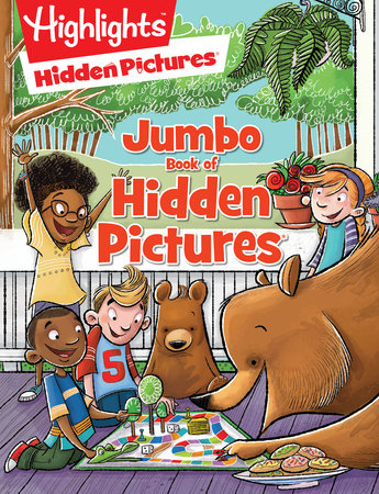 Jumbo Book of Hidden Pictures®