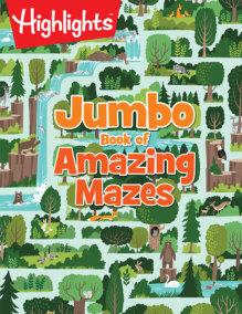 Jumbo Book of Amazing Mazes