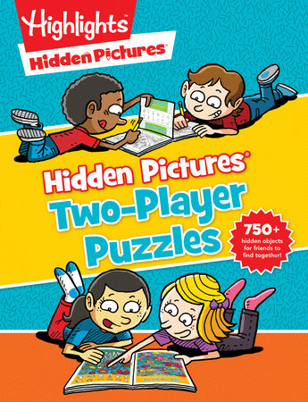 Hidden Pictures® Two-Player Puzzles by