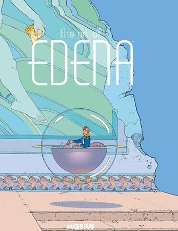 Moebius Library: The Art of Edena by Moebius