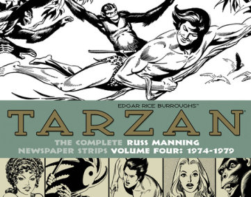 Tarzan: The Complete Russ Manning Newspaper Strips Volume 4 (1974-1979)