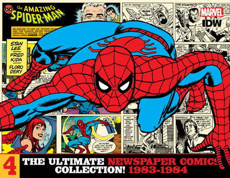 The Amazing Spider-Man: The Ultimate Newspaper Comics Collection Volume 4 (1983 -1984) by Stan Lee