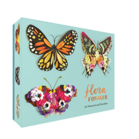 Flora Forager: Butterfly Notecards