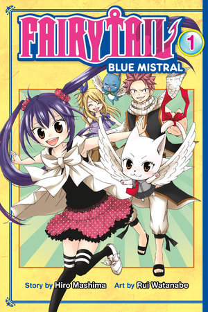 Fairy Tail Blue Mistral 1 by Hiro Mashima