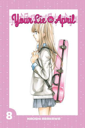 Your Lie in April 8 by Naoshi Arakawa