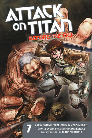 Attack on Titan: Before the Fall 7 by Ryo Suzukaze
