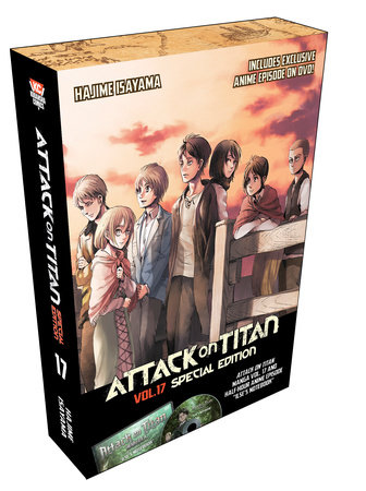 Attack on Titan 17 Special Edition w/DVD by Hajime Isayama