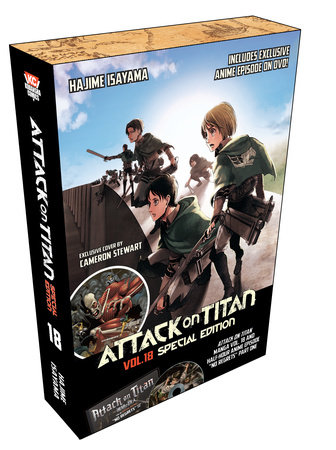 Attack on Titan 18 Special Edition w/DVD by Hajime Isayama