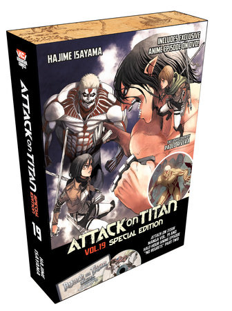 Attack on Titan 19 Special Edition w/DVD by Hajime Isayama