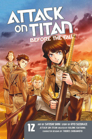 Attack on Titan: Before the Fall 12 by Ryo Suzukaze
