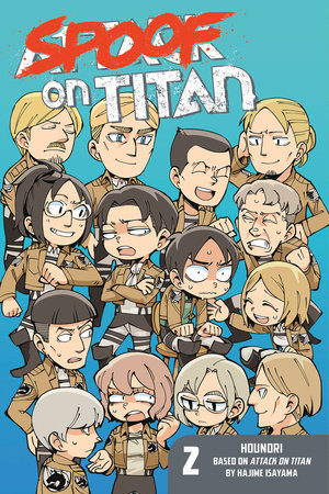 Spoof on Titan 2 (Attack on Titan) by Hounori