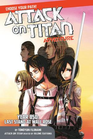Attack on Titan Choose Your Path Adventure by Tomoyuki Fujinami