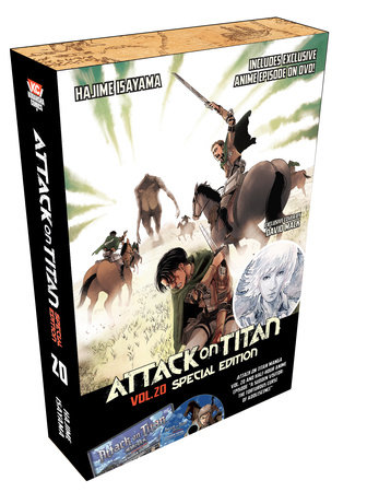 Attack on Titan 20 Special Edition w/DVD by Hajime Isayama