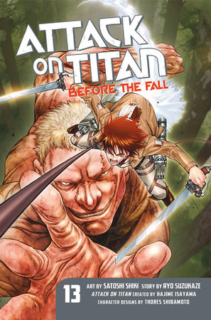Attack on Titan: Before the Fall 13