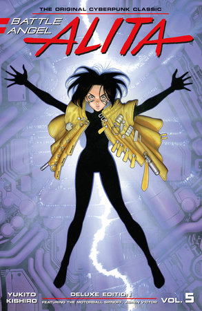 Battle Angel Alita Deluxe Edition 5