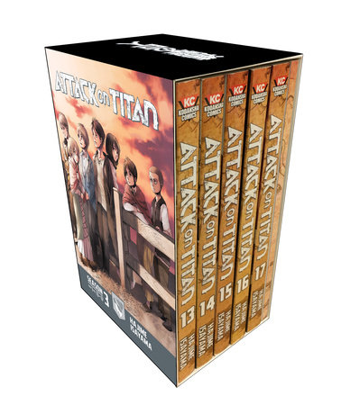 Attack on Titan Season 3 Part 1 Manga Box Set by Hajime Isayama