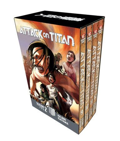 Attack on Titan Season 2 Manga Box Set by Hajime Isayama
