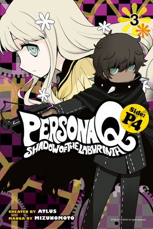 Persona Q: Shadow of the Labyrinth Side: P4 Volume 3