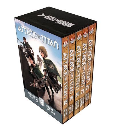Attack on Titan Season 3 Part 2 Manga Box Set by Hajime Isayama