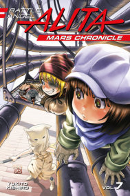Battle Angel Alita Mars Chronicle 7