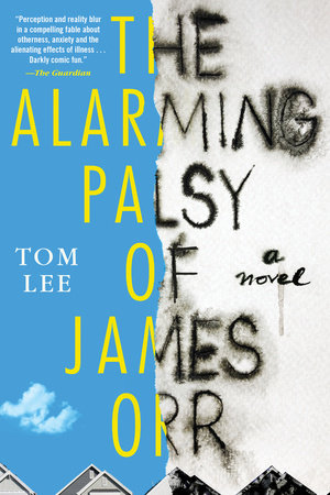 The cover of the book The Alarming Palsy of James Orr