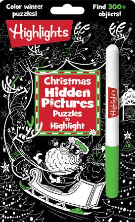 Christmas Hidden Pictures Puzzles To Highlight 9781644721223 Penguinrandomhouse Com Books