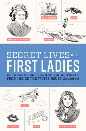 Secret Lives of the First Ladies Book Cover Picture
