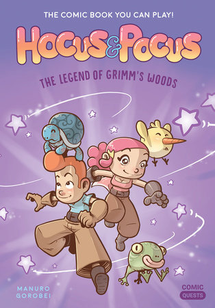 Hocus & Pocus: The Legend of Grimm's Woods by Manuro