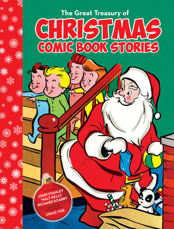 The Great Treasury of Christmas Comic Book Stories by