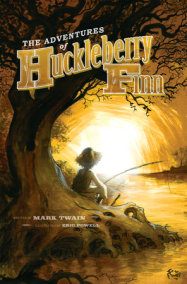 The Adventures of Huckleberry Finn with Illustrations by Eric Powell