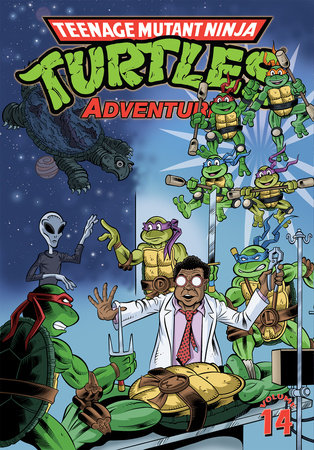 Teenage Mutant Ninja Turtles Adventures Volume 14