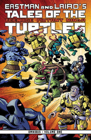 Tales of the Teenage Mutant Ninja Turtles Omnibus, Vol. 1