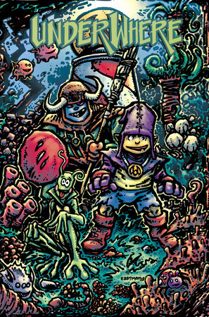 Underwhere by Kevin Eastman and Paul Jenkins