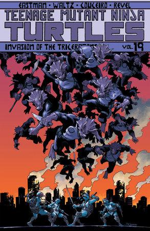 Teenage Mutant Ninja Turtles Volume 19: Invasion of the Triceratons by Tom Waltz and Kevin Eastman