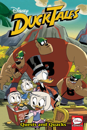 DuckTales: Quests and Quacks by Joe Caramagna and Joey Cavalieri