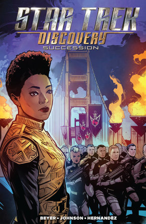 Star Trek: Discovery - Succession by Kirsten Beyer; Mike Johnson; Tony Shasteen