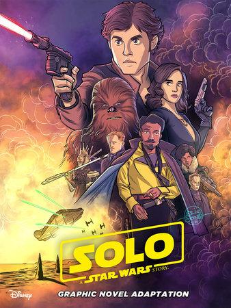 Star Wars: Solo Graphic Novel Adaptation by Alessandro Ferrari