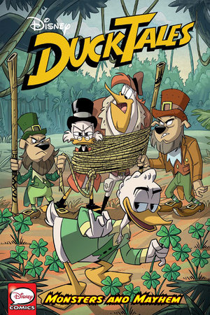 DuckTales: Monsters and Mayhem by Joe Caramagna,Steve Behling,Joey Cavalieri